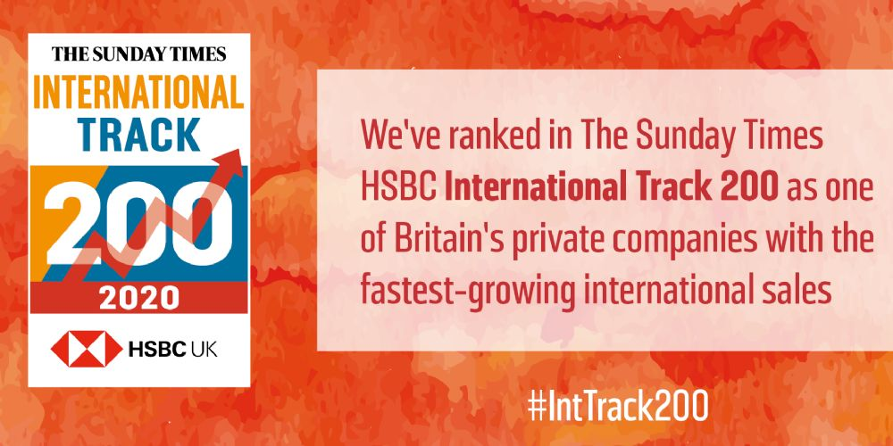 Sunday Times HSBC International Track 200 League Table