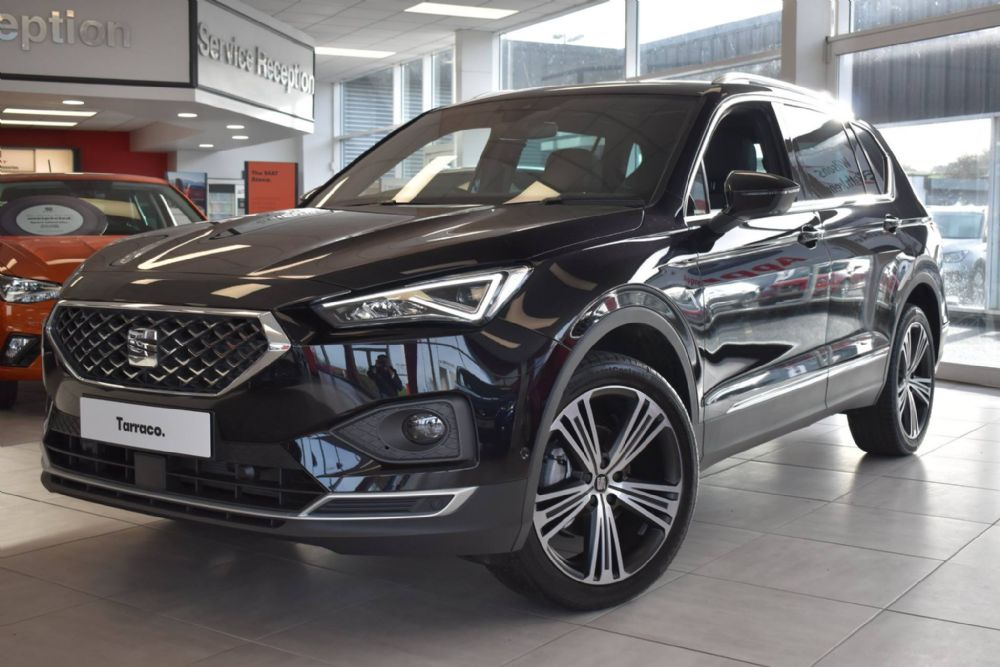 The New SEAT Tarraco arrives at Wilsons of Rathkenny