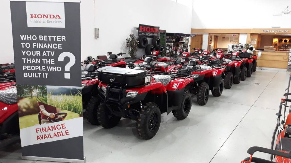 Honda Quads now with 0% APR