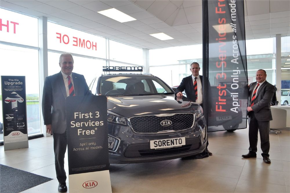 3 Years Servicing accross the Kia range