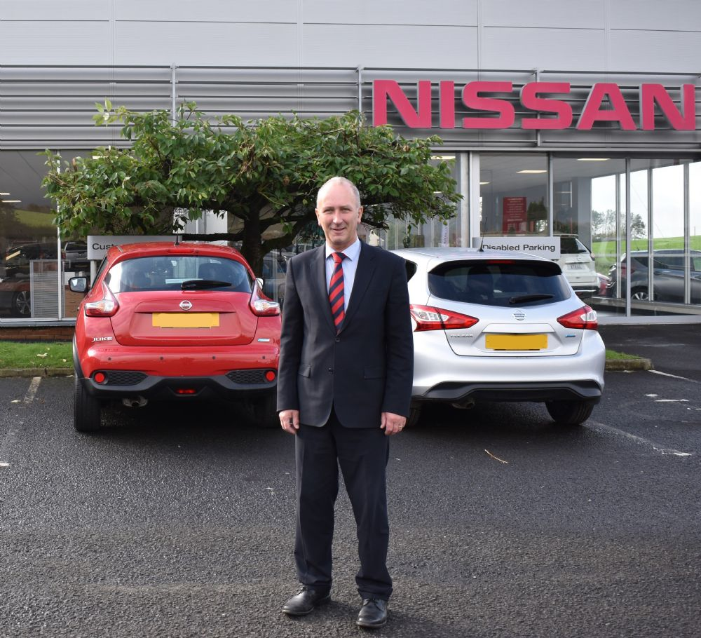 Nigel Cole joins the Nissan Team