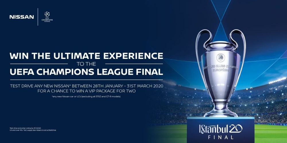 WIN THE ULTIMATE UEFA CHAMPIONS LEAGUE FINAL EXPERIENCE