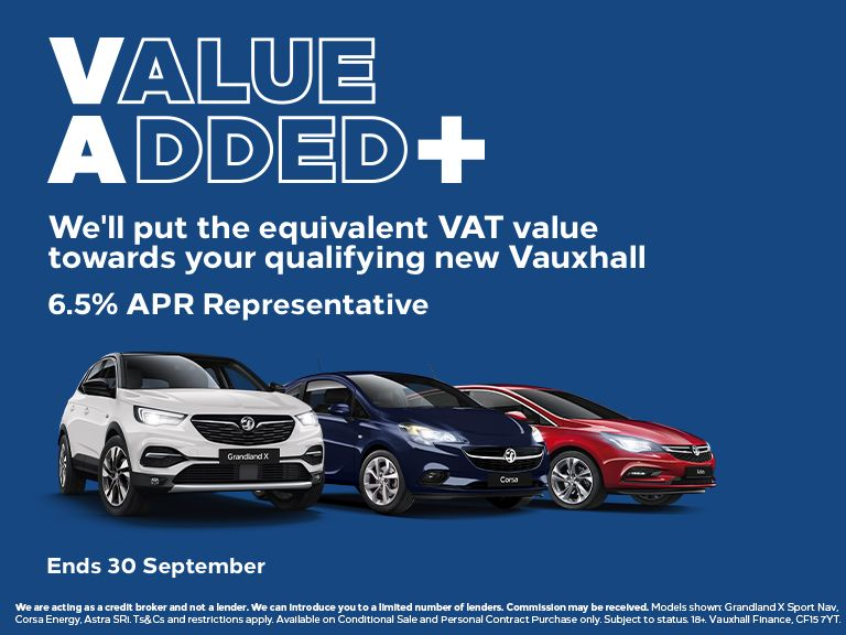 Vauxhall Value Added + Campaign