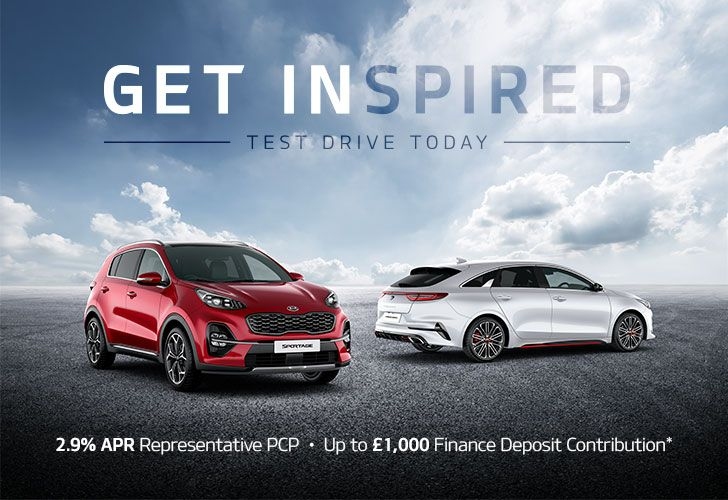 Get Inspired with a Kia Test Drive Today