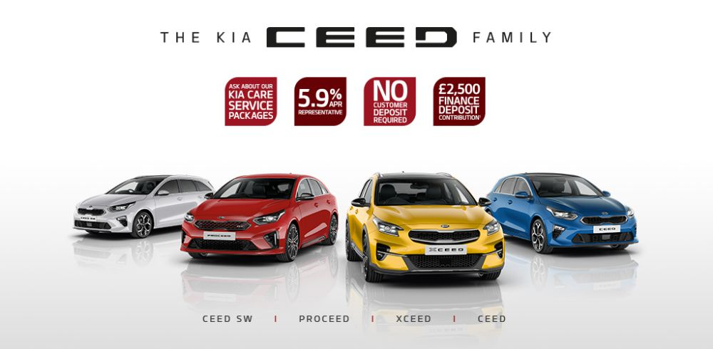 The Kia Ceed Family