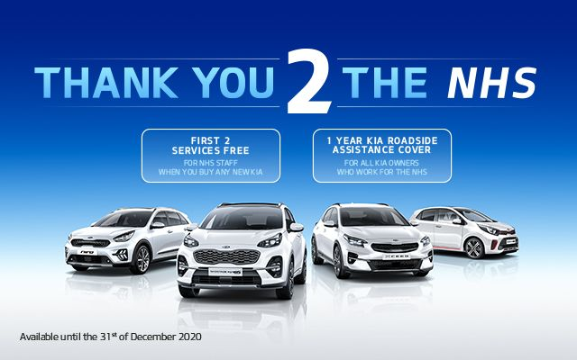 Thank you to all the NHS staff from Kia