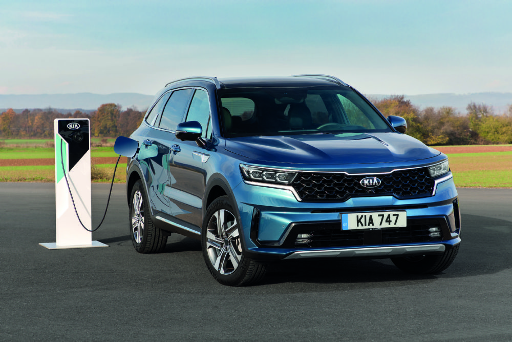 PLUG-IN HYBRID MODEL COMPLETES THE  ALL-NEW SORENTO LINE-UP