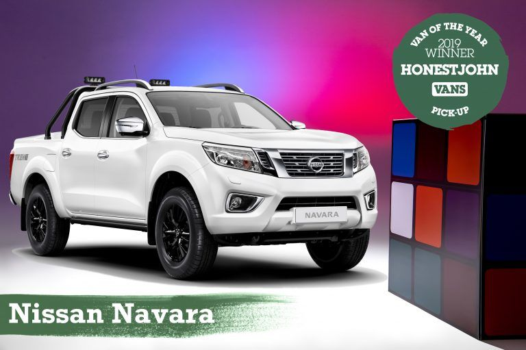Nissan Navara wins Pick-up of the Year in Honest John Awards 2019