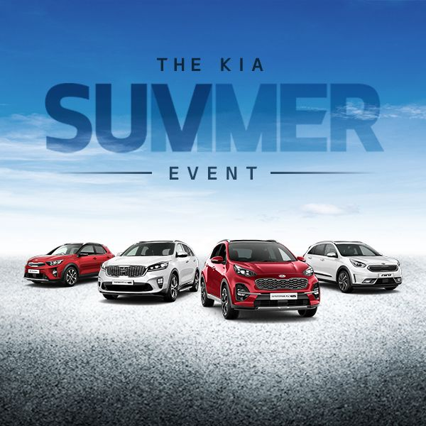 The Kia Summer SUV Event