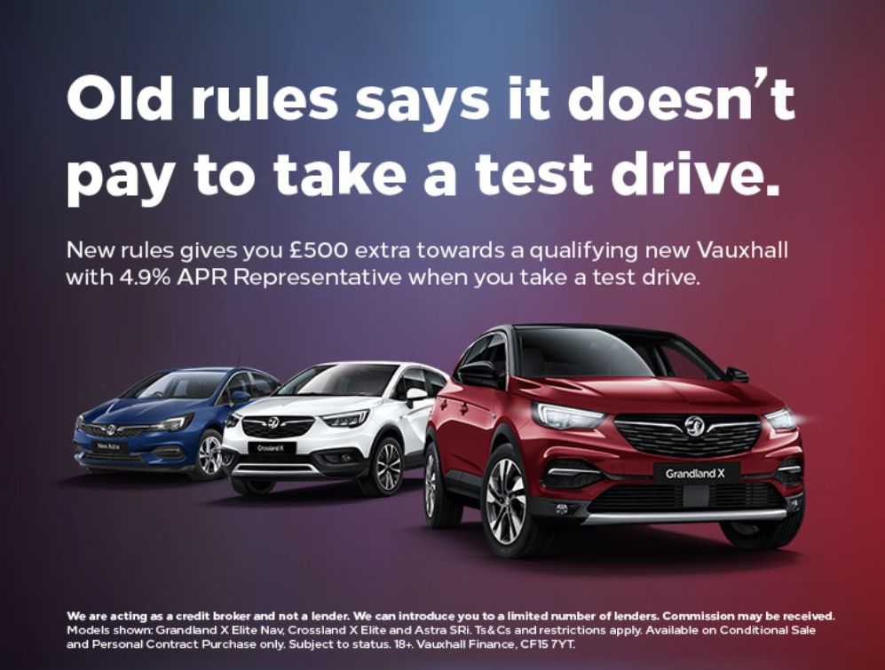 Experience the New Vauxhall Campaign