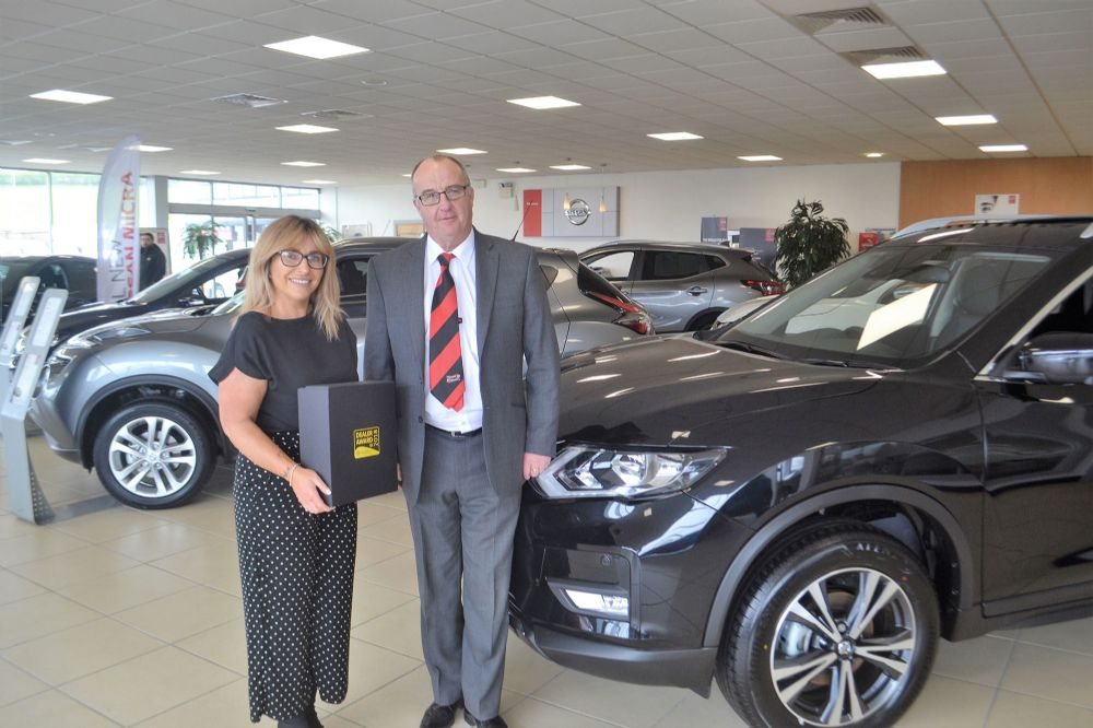 Motability Dealer Award win for excellent customer service