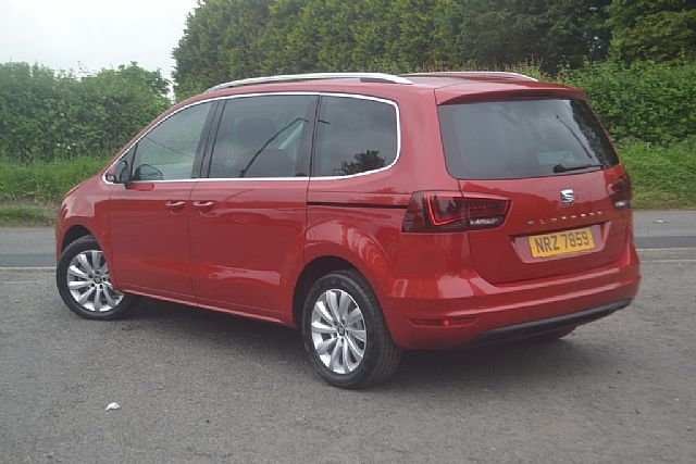 2018 Seat Alhambra 2 0 Tdi Se 150bhp 7 Seater Used At Wilsons Of