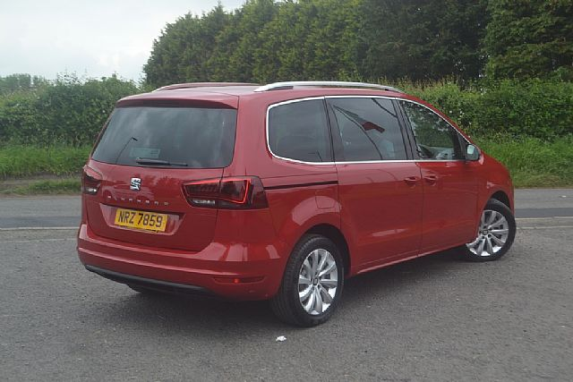 2018 seat alhambra 2 0 tdi se 150bhp 7 seater used seat. Black Bedroom Furniture Sets. Home Design Ideas