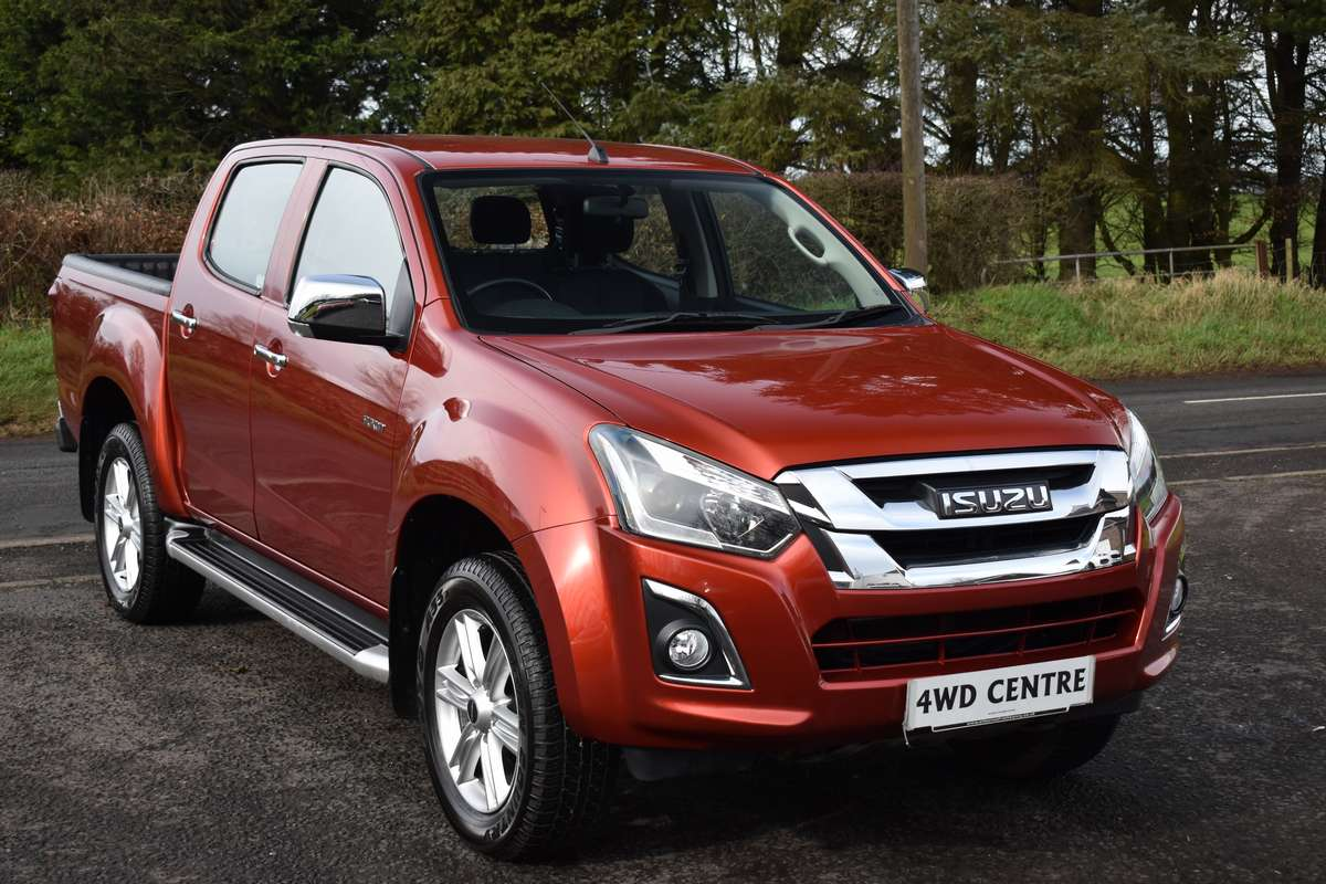 ISUZU D-MAX 1.9 YUKON *AUTO NEW MODEL, NEVER FARMED, DECEMBER 2017*