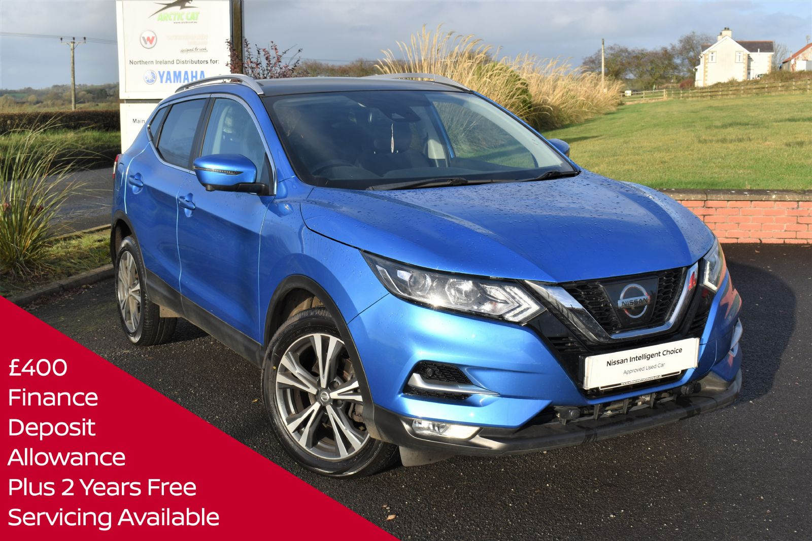 Nissan QASHQAI N-CONNECTA DCI AUTOMATIC DIESEL*GET FREE SERVICING AND FINANCE DEPOSIT WITH THIS CAR