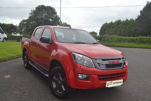 ISUZU D-MAX FURY 2016 ONE OWNER FROM NEW WE PAY £500 FINANCE DEPOSIT