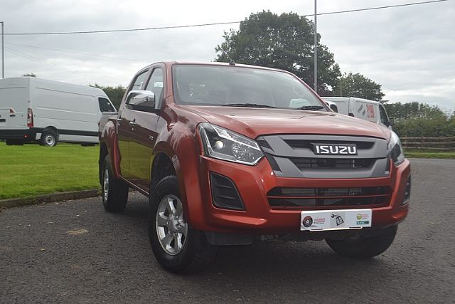 ISUZU D-MAX EIGER 2018 EX DEMONSTRATION MODEL WE PAY £500 FINANCE DEPOSIT