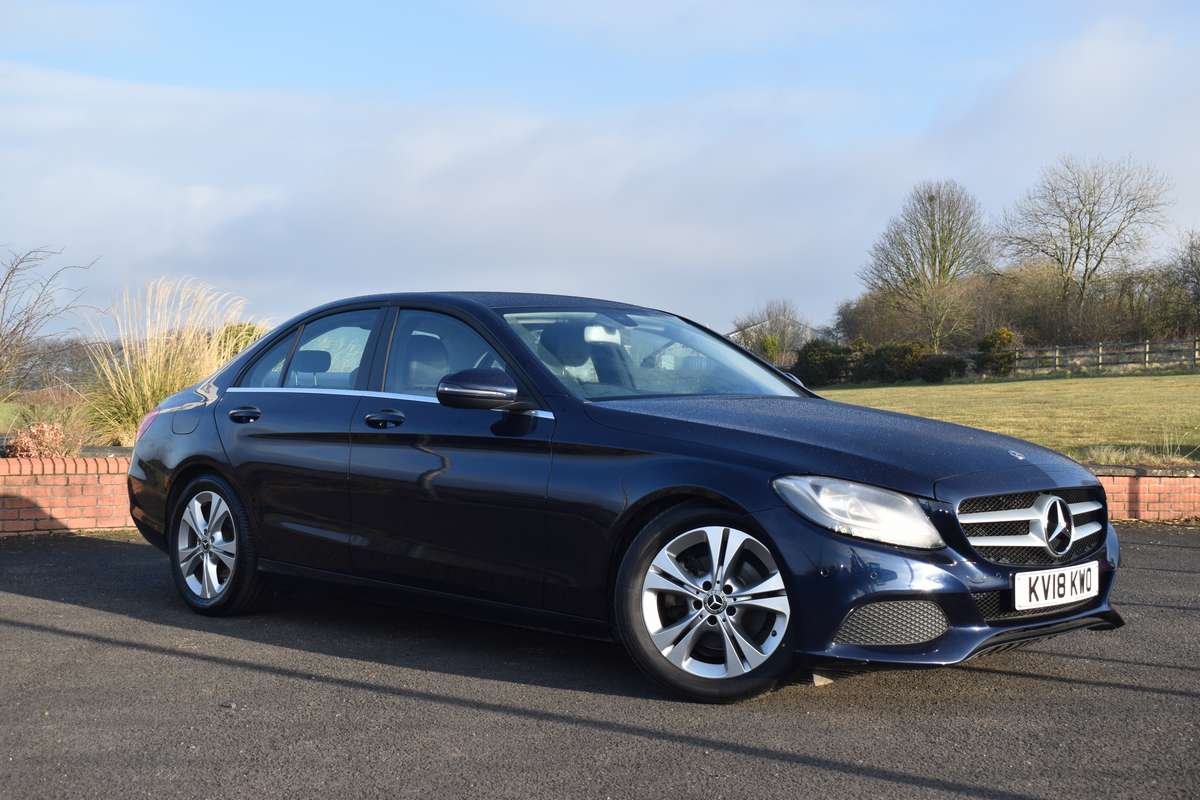 Mercedes-Benz C-Class 2.1D (170PS) C220D SE Executive Edition (S/S) Saloon 9G Tronic