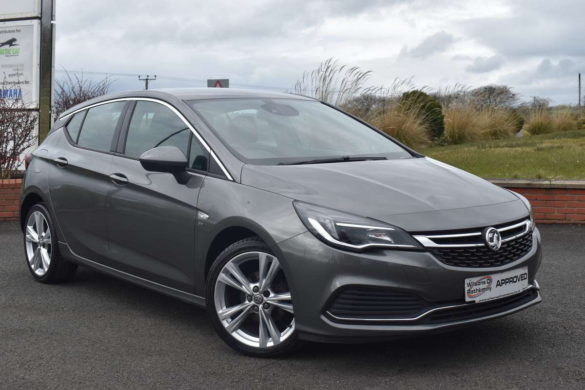 Vauxhall Astra SRI VX-Lline Nav 1.4 Turbo (150PS)
