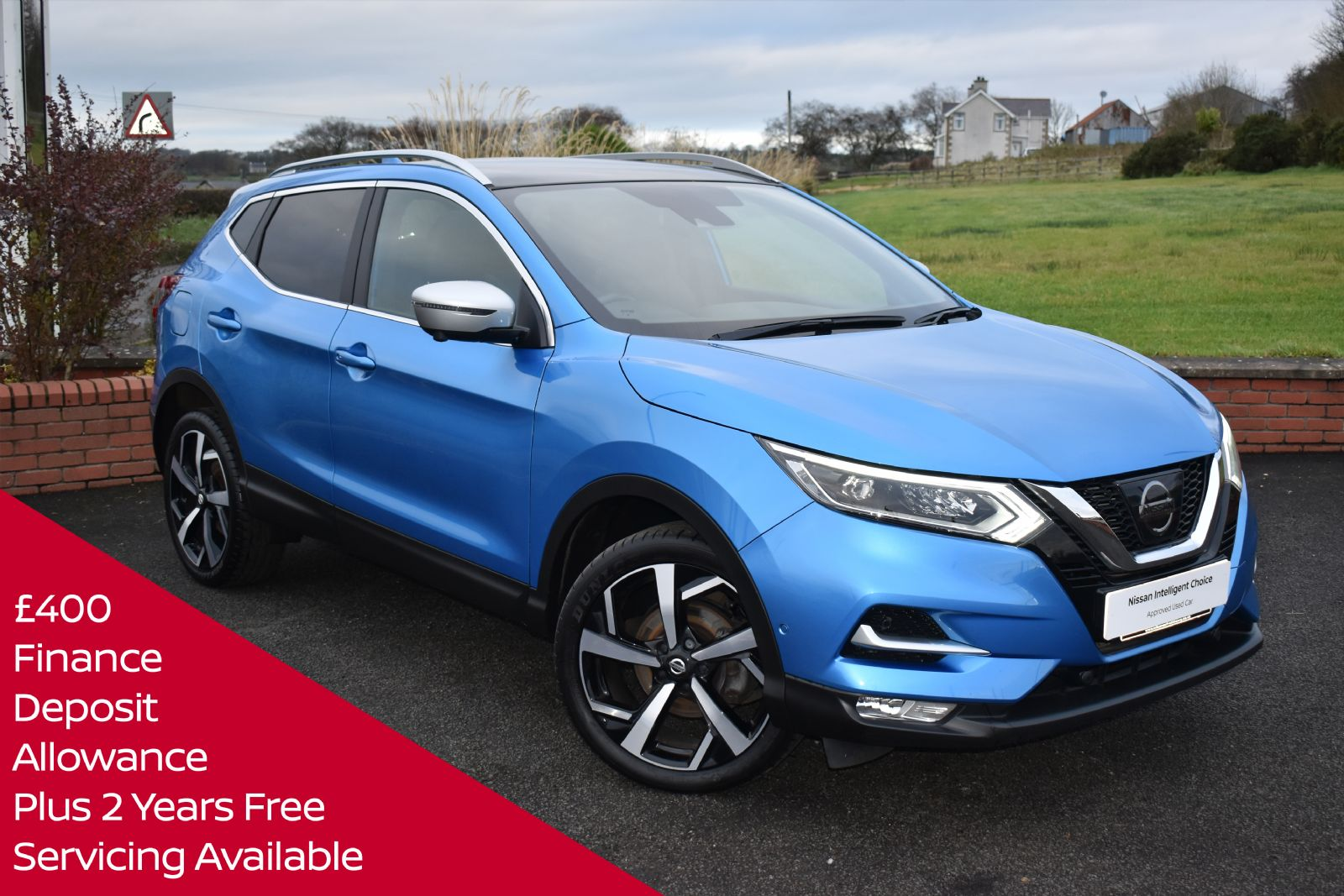 Nissan QASHQAI TEKNA + DIG-T *TOP SPEC CAR WITH FULL LEATHER*