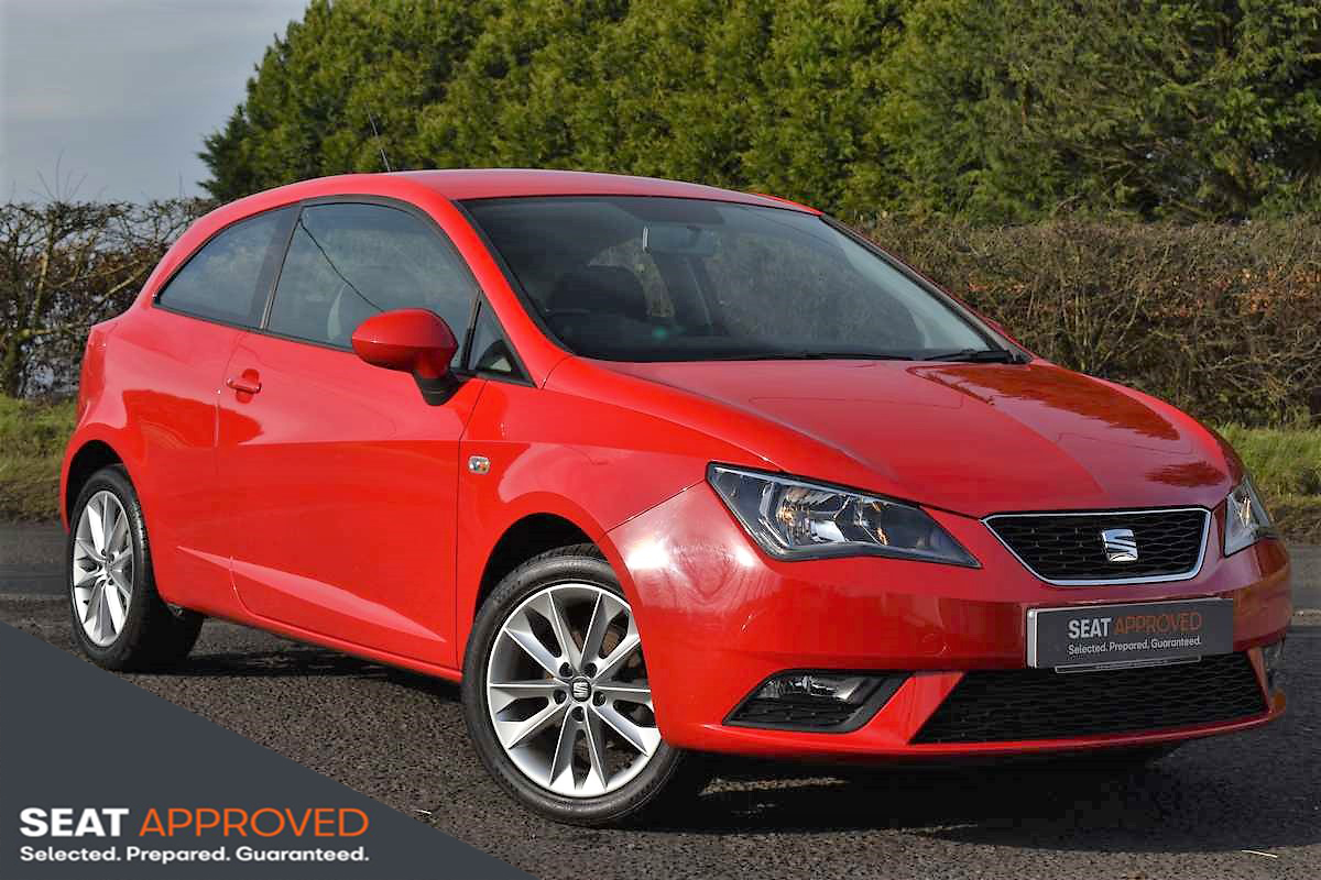 SEAT Ibiza 1.0 Vista 3DR  £500 FINANCE DEPOSIT ALLOWANCE*Contact John Vennard 07968069535