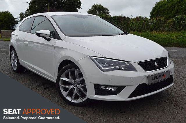 SEAT LEON 2.0TDI FR TECH 3 DOOR SPORTS COUPE