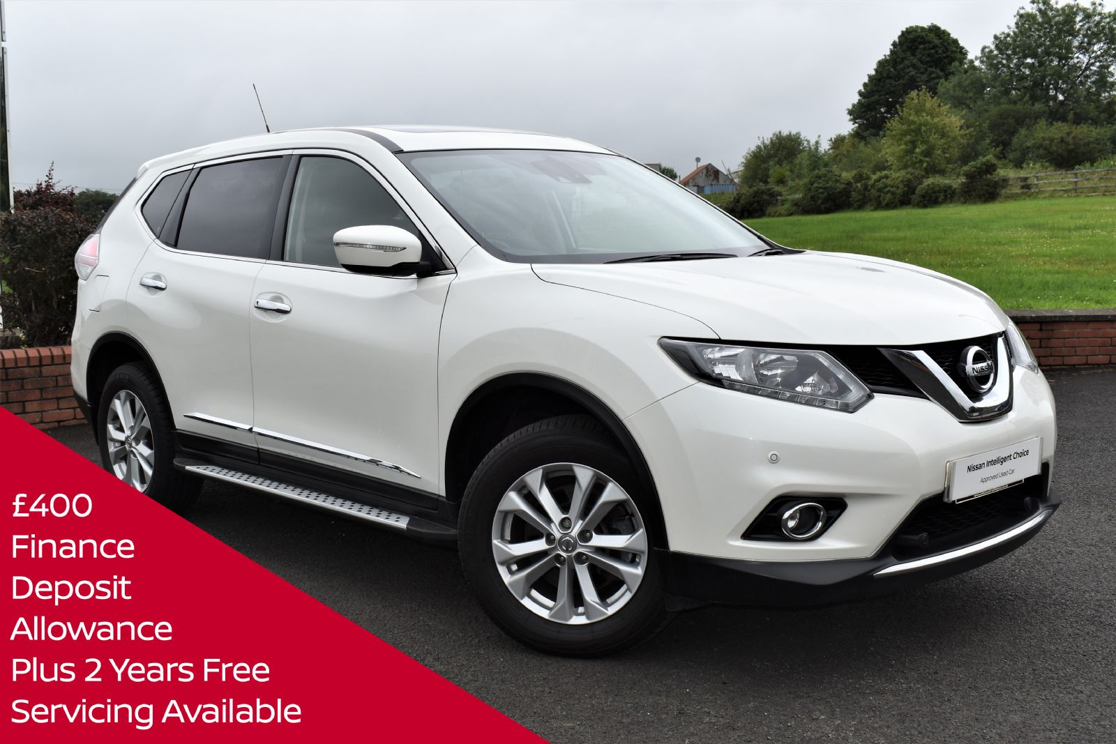 Nissan X-TRAIL ACENTA DCI SEVEN SEATER