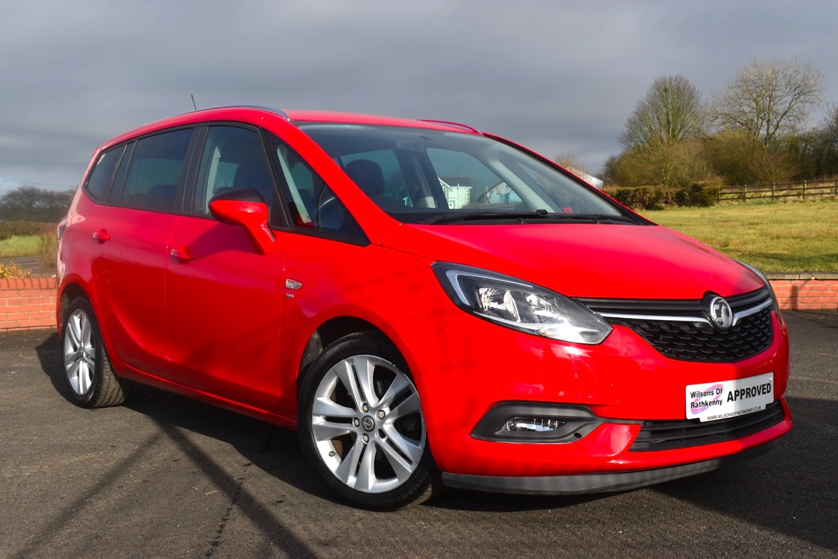 2018 Vauxhall ZAFIRA TOURER 1.4  TURBO SRI NAV
