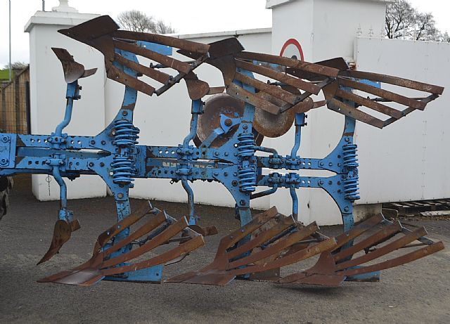 Lemken 3 Furrow Reversible Plough