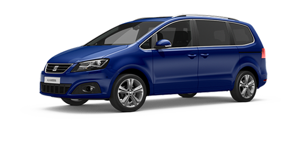 SEAT Alhambra Atlantic Blue