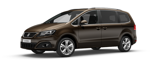 SEAT Alhambra Black Oak Brown