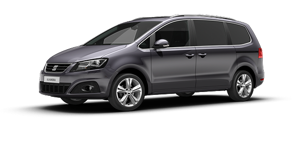 SEAT Alhambra Indium Grey