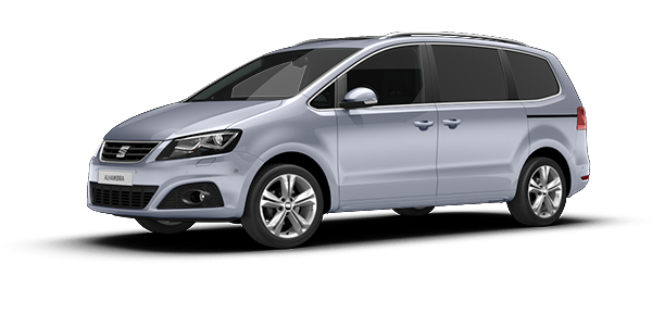 SEAT Alhambra Moonstone Silver