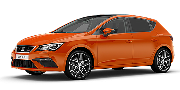 SEAT Leon 5DR Eclipse Orange