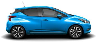 Nissan Micra POWER BLUE