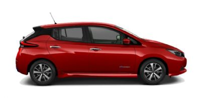 Nissan LEAF FLAME RED