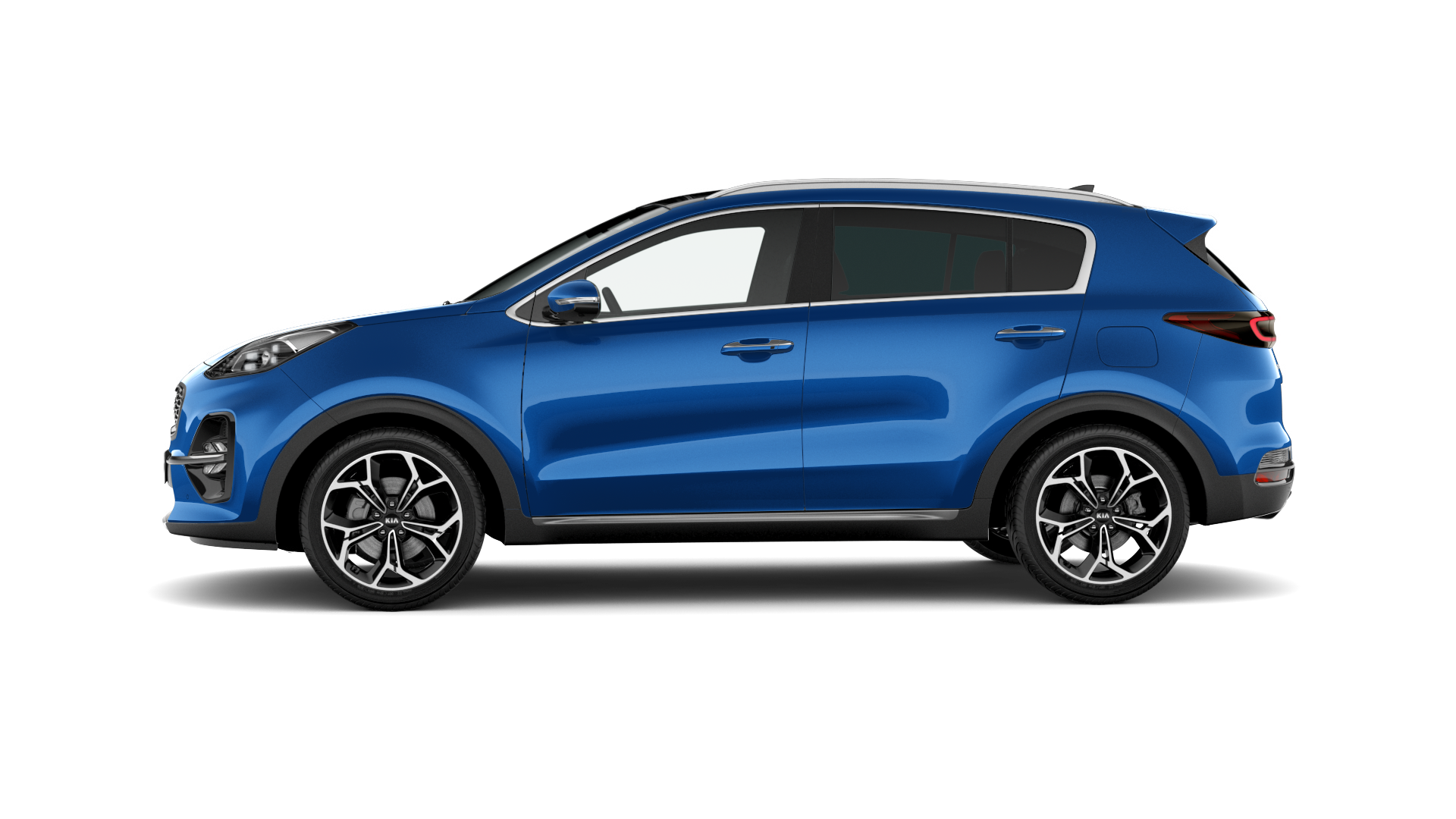 Kia New Sportage Blue Flame