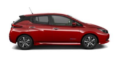 Nissan LEAF MAGNETIC RED