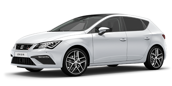 SEAT Leon 5DR Nevada White