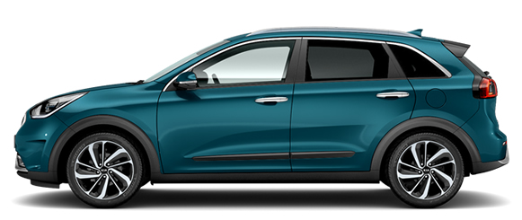 Kia New Niro Self-Charging Hybrid