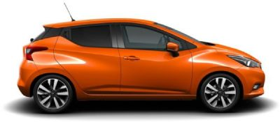 Nissan Micra ENERGY ORANGE
