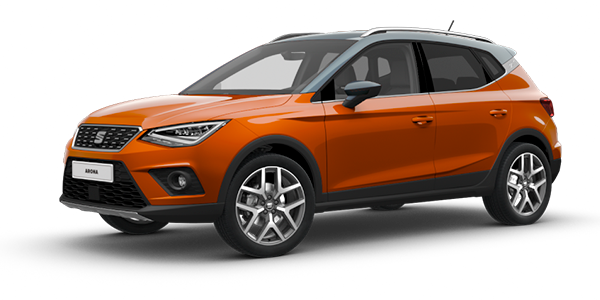 SEAT Arona Eclipse Orange