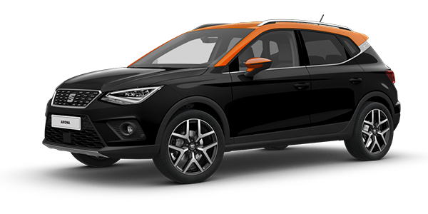 SEAT Arona Midnight Black*