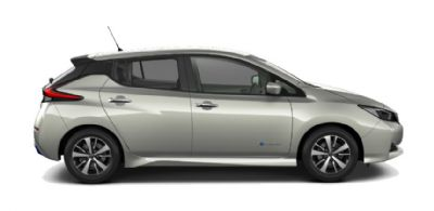 Nissan LEAF SPRING CLOUD GREEN