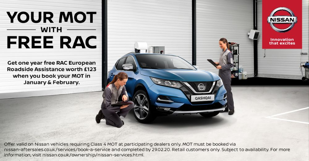 Your MOT with Free RAC